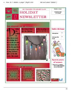 newsletter templates publisher