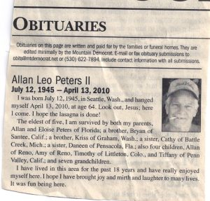 newspaper obituary template obituary