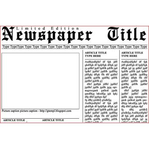 newspaper template free cbbcdfddbfbcbdfee large