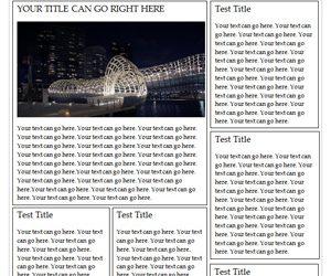 newspaper template free ms word newspaper template