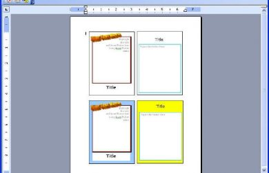 newspaper template microsoft word trading card reports format