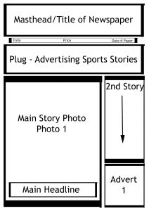 newspaper template word blank newsletter templates beautiful newspaper template kids pictures