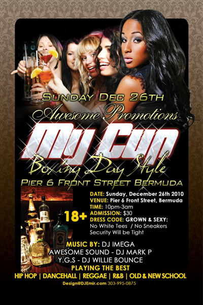 night club flier