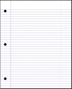 notebook paper pdf cbmtg