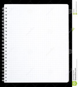 notebook paper printable notebook page
