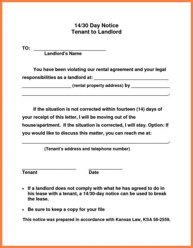 notice of eviction form