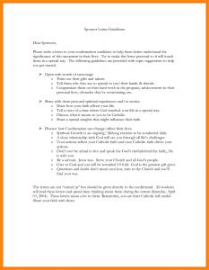 notice of eviction form confirmation sponsor letter