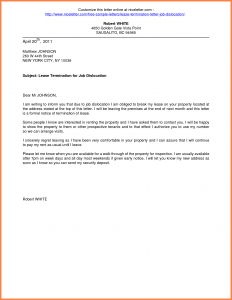 notice of lease termination letter from landlord to tenant break lease notice lease termination letter landlord to tenant terminate photo