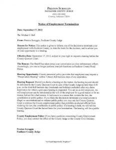 notice of termination jason bell