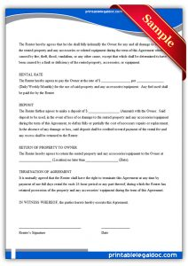 notice of termination of employment rental agreement generic
