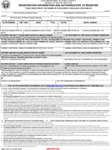 notice of transfer and release of liability form ohio power of attorney for vehicle registration form