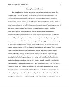 nursing notes examples personal nursing philosophy paper