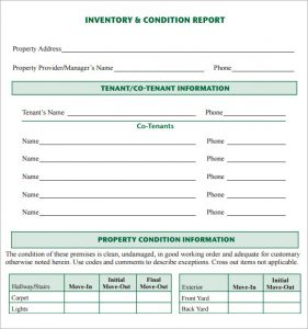 nursing reports templates inventory report sample