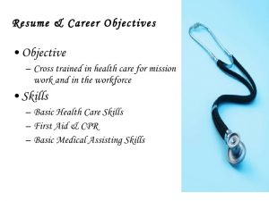 nursing student resume examples health occupational professional portfolio