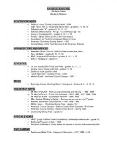 nursing student resume examples resume writing career services student athlete resume