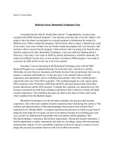 one page resume examples writing reflective essay examples personal reflection example