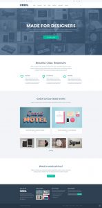 one page website template free psd creative portfolio bootstrap template full preview