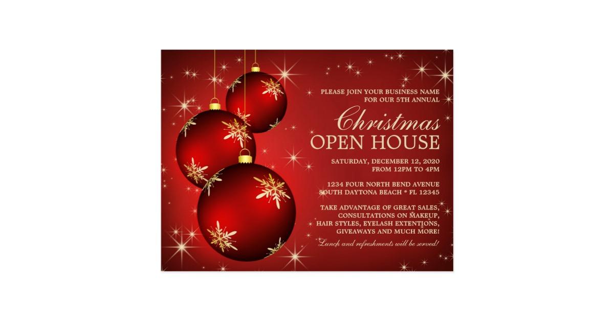 open house invitation template