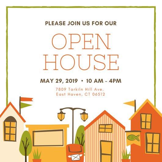 open house invite templates