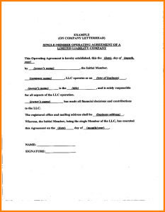 operating agreement samples operating agreement samples sample llc operating agreement sample l