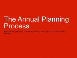 operating budget template the annual planning process socialdigital media