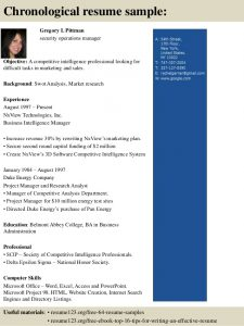 operation manager resume top security operations manager resume samples