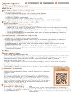 operations manager resume sample jennifer garnett resume uiux designer