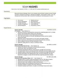 operations manager resume sample unforgettable general manager resume examples to stand out general manager resume example general manager resume example