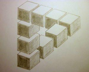 optical illusions drawings illusion