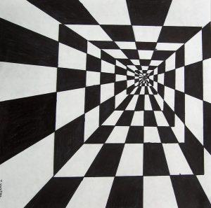optical illusions drawings img