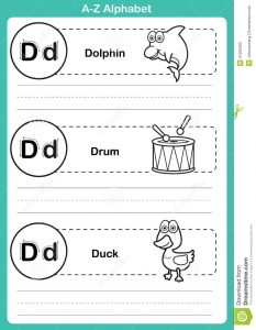 outline for writing a book alphabet z exercise cartoon vocabulary coloring book illustration vector