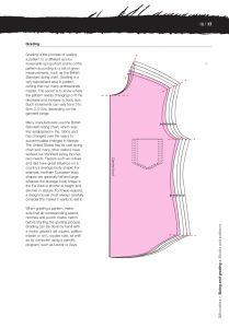 paper cutting pattern basics fashion design construction bbs