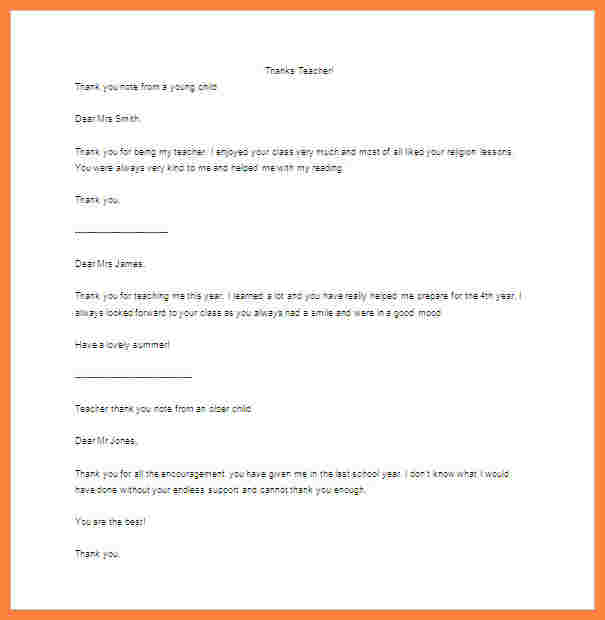 parent letter template
