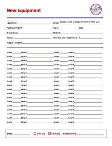 parental consent form template asset new equipment form