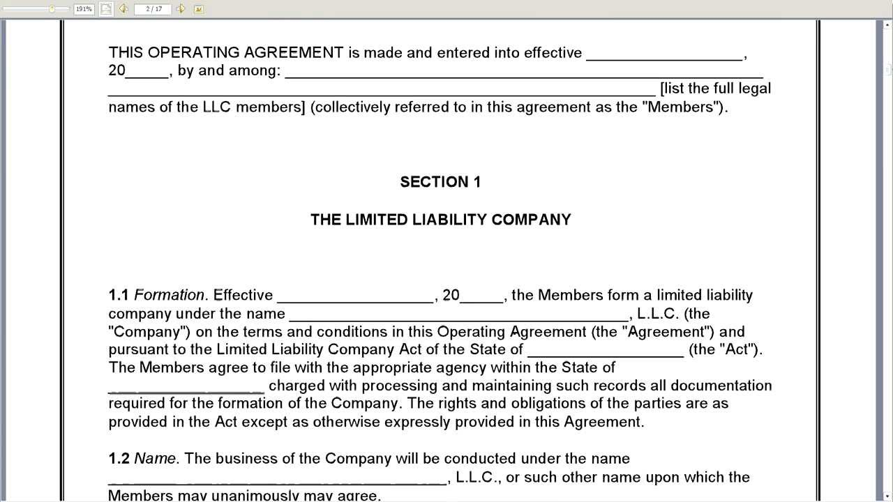 partnership agreement example