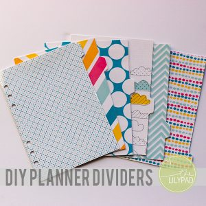 party planner templates planner dividers cover