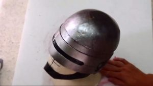 party planning templates build ultimate diy robocop helmet with cardboard w