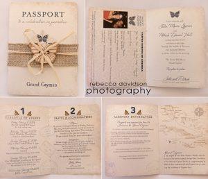 passport invitations templates passport image