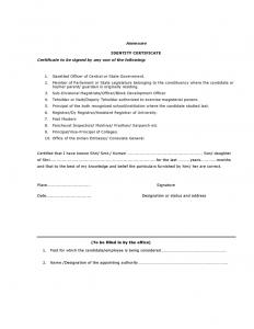 passport picture template attestation form l