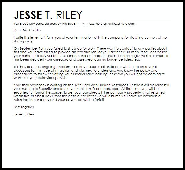 patient dismissal letter