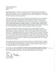 patient dismissal letter tsbvme leta