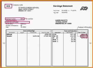 pay stub template free doc template for pay stubs download a free pay stub