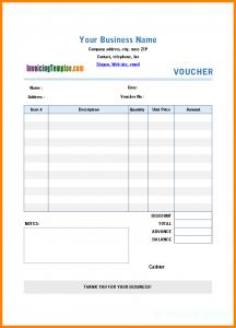 payment plan contract hotel voucher template paymentvouchertemplate printed