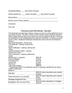 payment plan contract real estate investor business plan