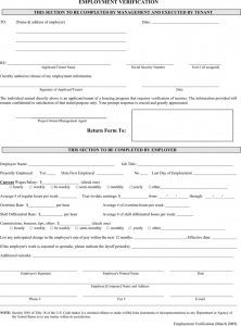 payroll stub template employment verification form