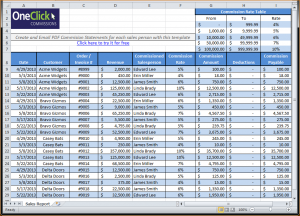 payroll stub template excel payroll template sales commission template variable revenue