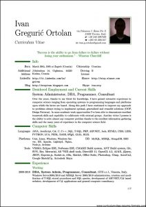 pdf resume template professional resume template pdf