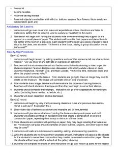pe lesson plan template smac lesson plan page
