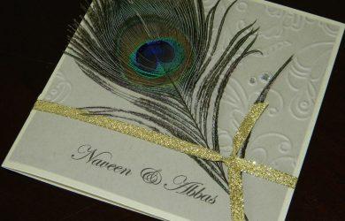 peacock wedding invitations dscn