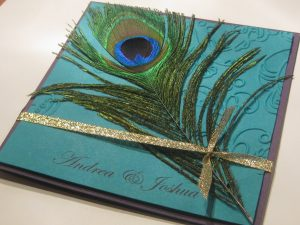 peacock wedding invitations img